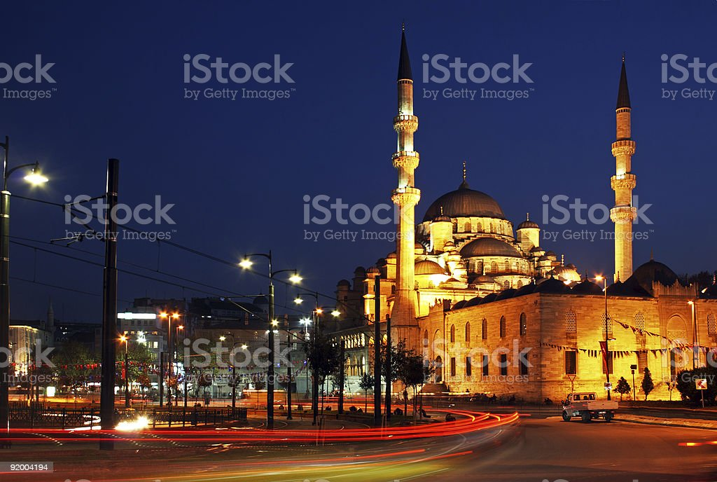 New Mosque, Istanbul royalty-free stock photo