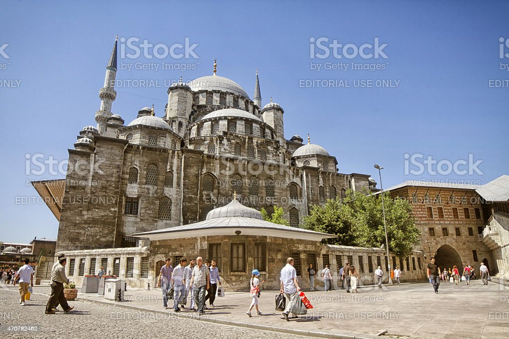 New Mosque , Istanbul, Turkey stock photo
