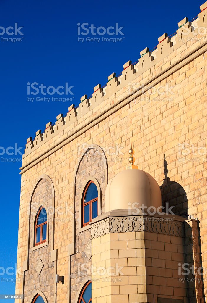 New mosque royalty-free stock photo