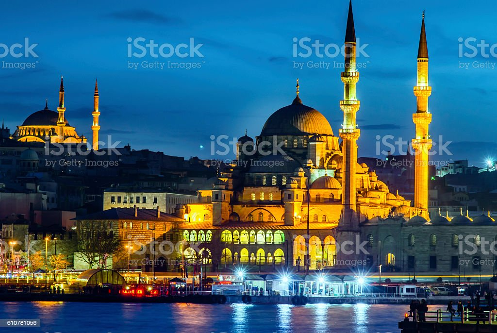 New Mosque (Istanbul) stock photo