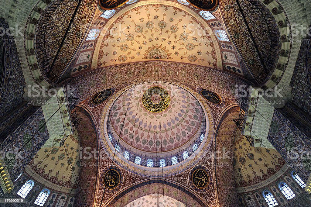 New Mosque, Yeni Camii royalty-free stock photo