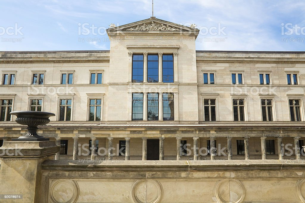 New Museum Berlin royalty-free stock photo