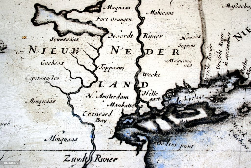 New Netherland stock photo