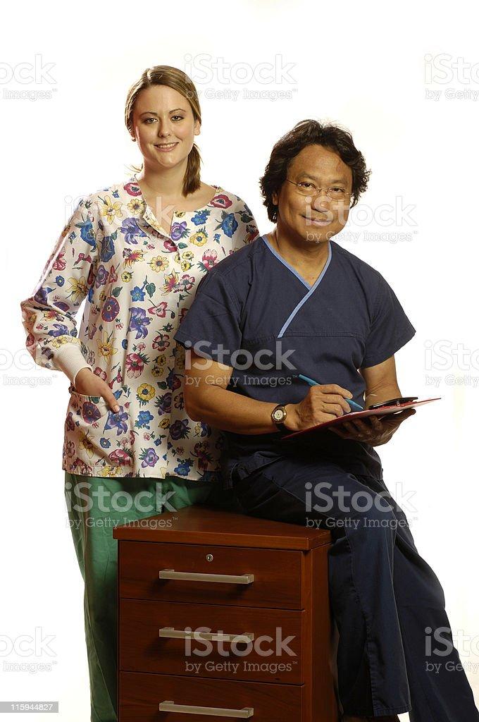 new nurses royalty-free stock photo