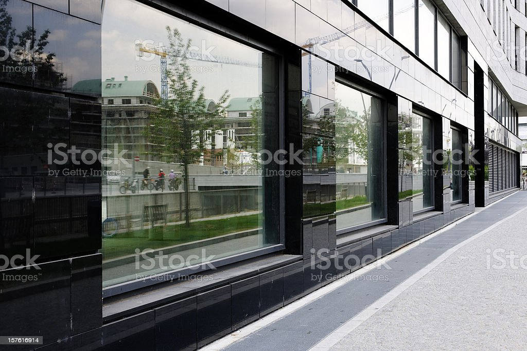 New Office Building Abandoned. Color Image royalty-free stock photo