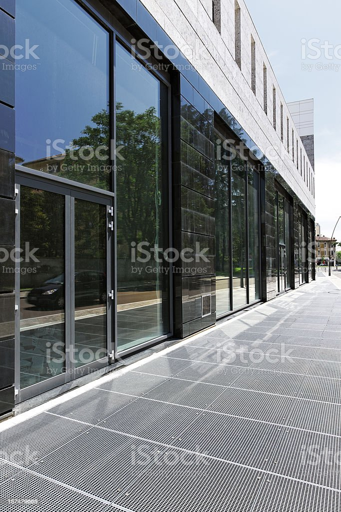 New Office Building. Color Image royalty-free stock photo