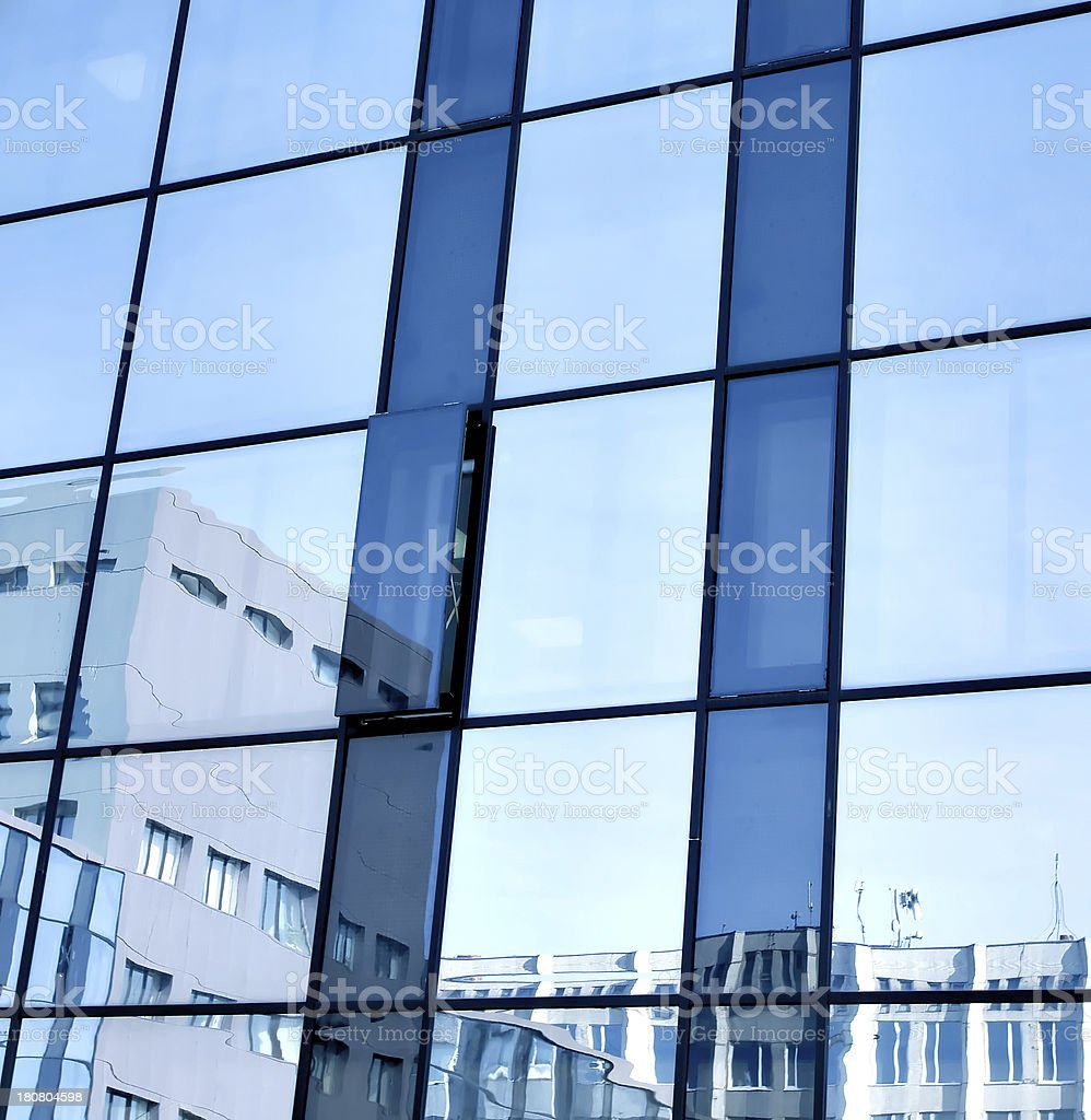 new office building in business center royalty-free stock photo