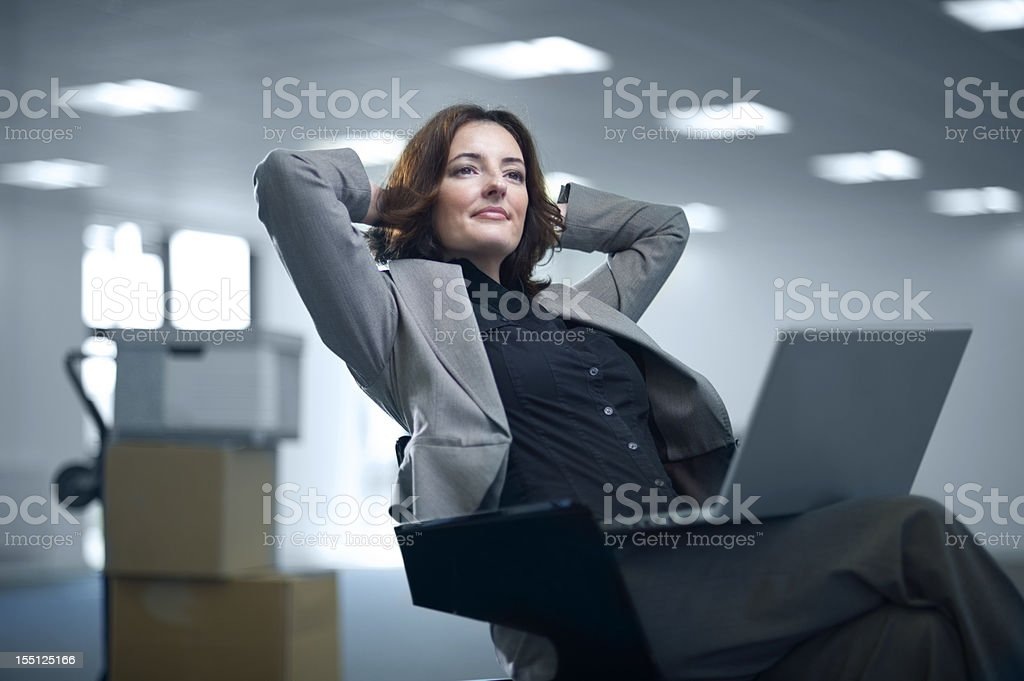 new office stock photo