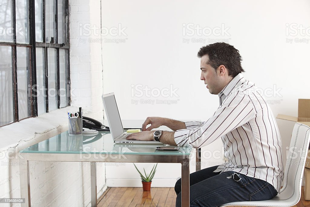 New office space royalty-free stock photo