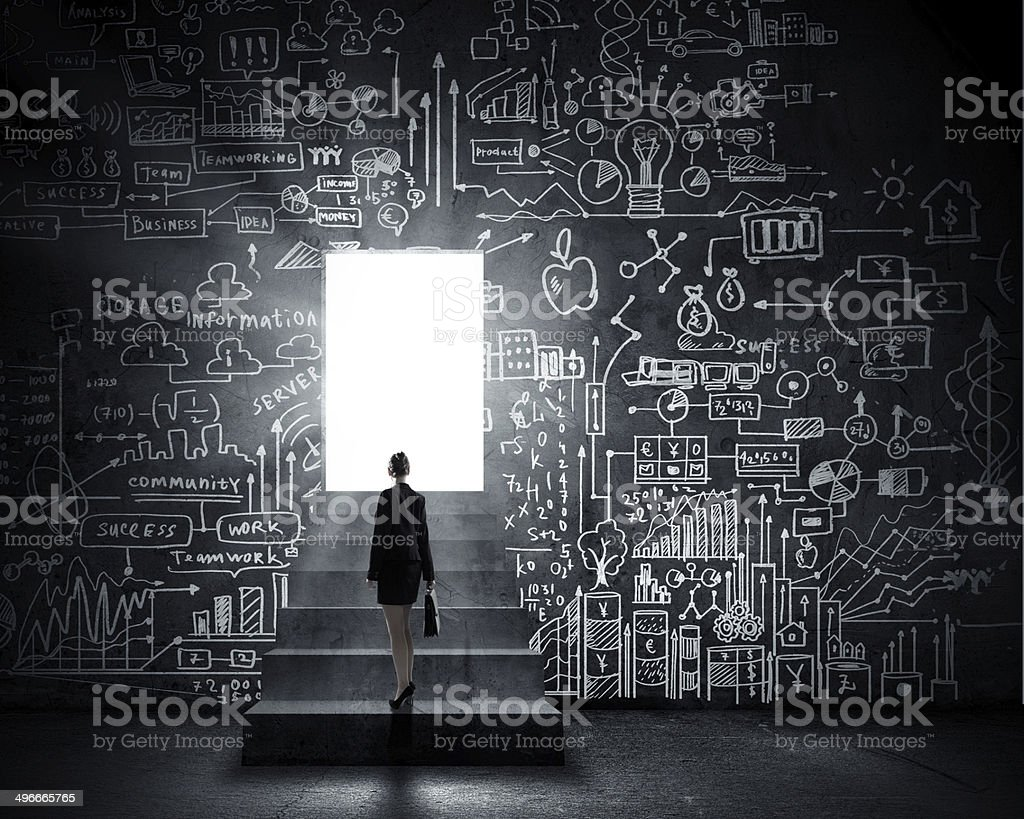 New opportunities stock photo