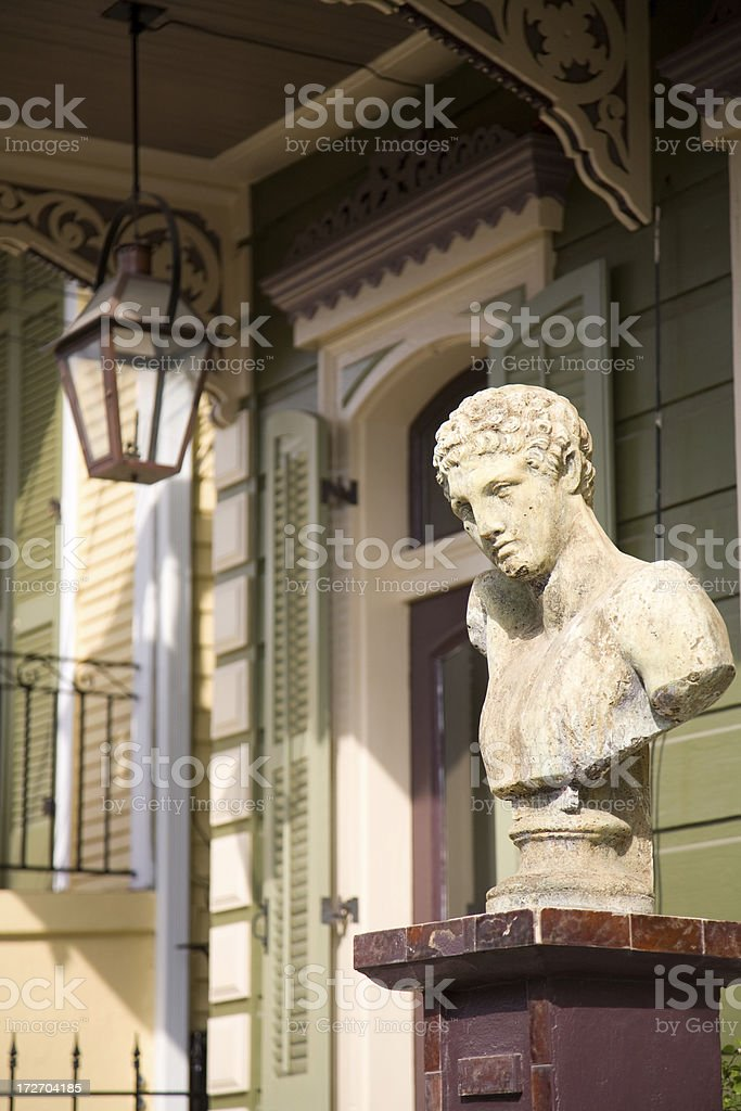 New Orleans Architecture royalty-free stock photo