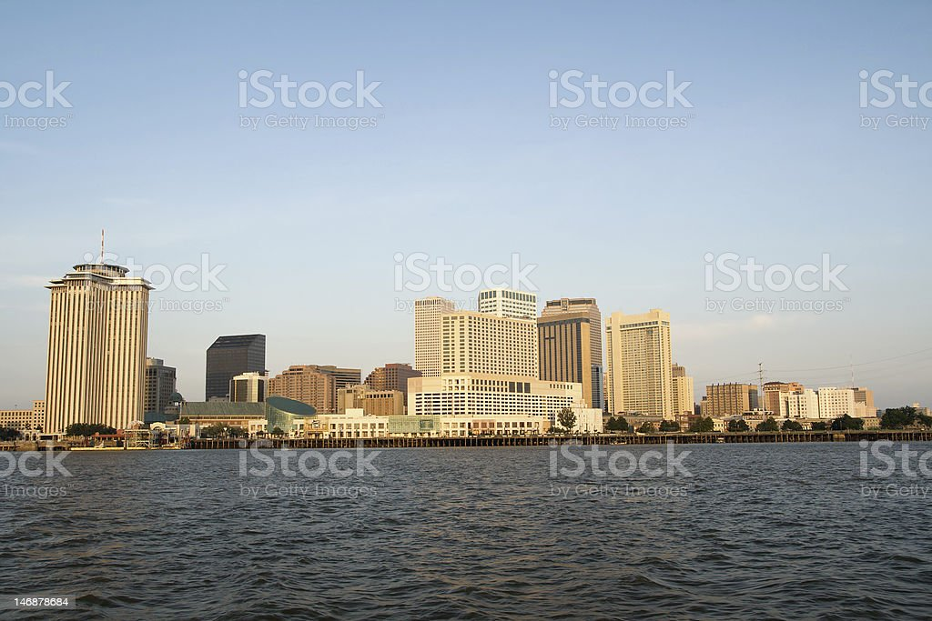 New Orleans at Dawn royalty-free stock photo