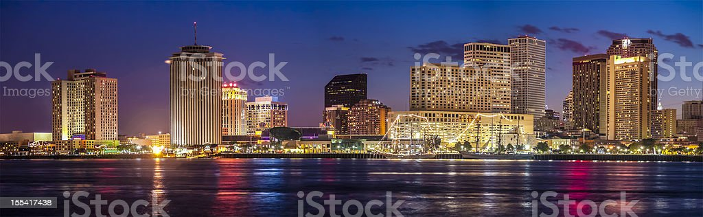 New Orleans at Sunset stock photo