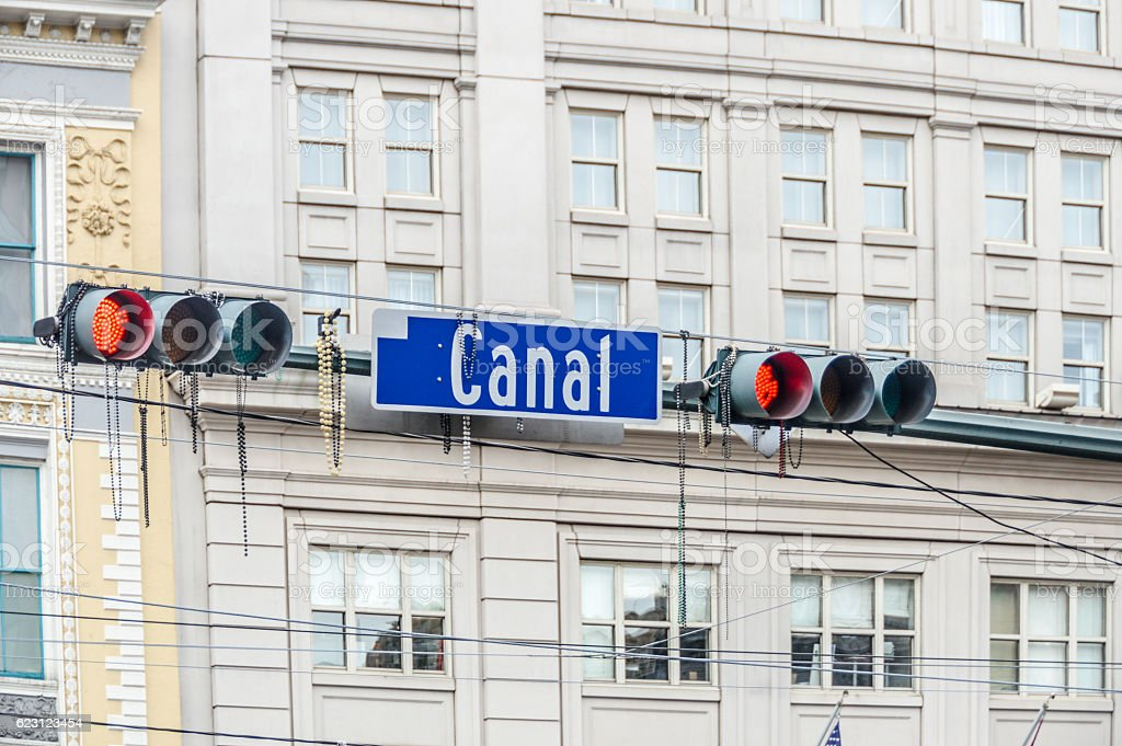 New Orleans - Canal Street stock photo