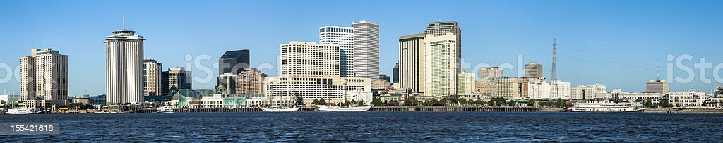 New Orleans Cityscape Panorama stock photo