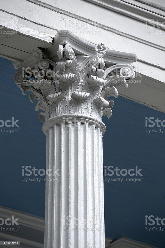 New Orleans Corinthian Column royalty-free stock photo