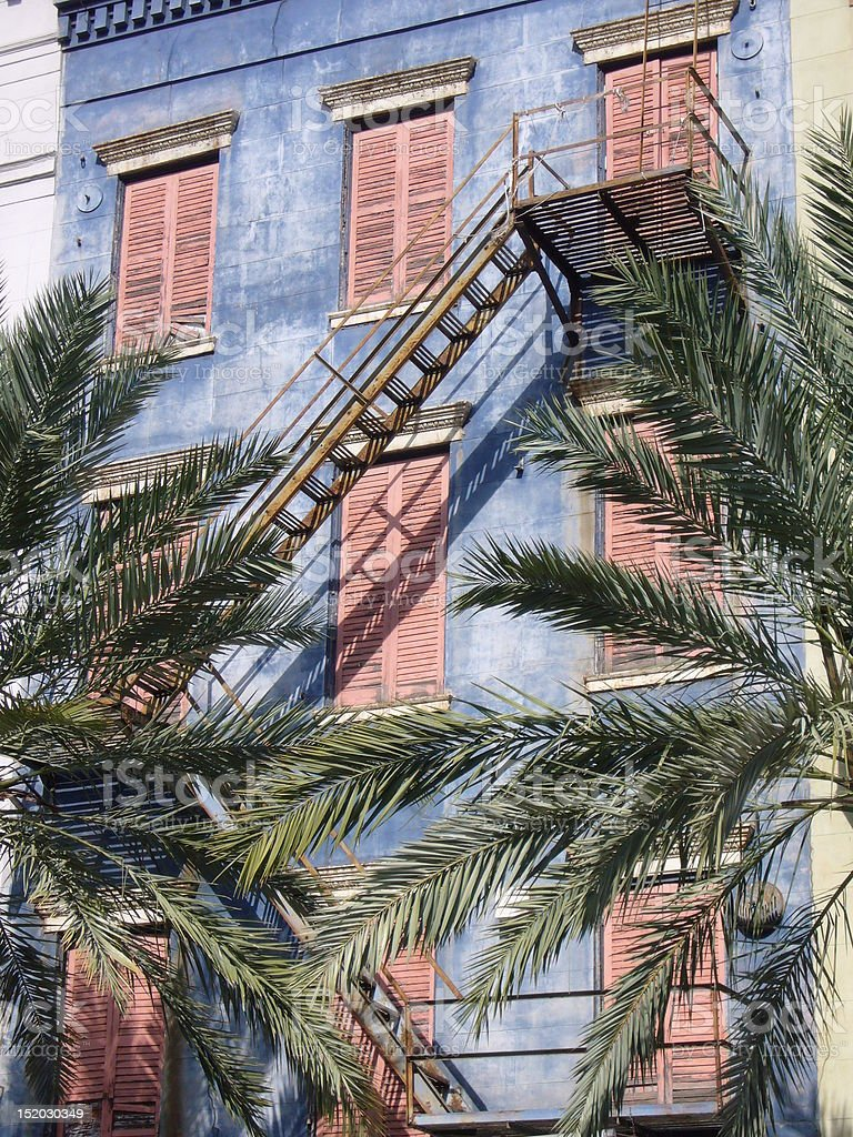 New Orleans Facade royalty-free stock photo