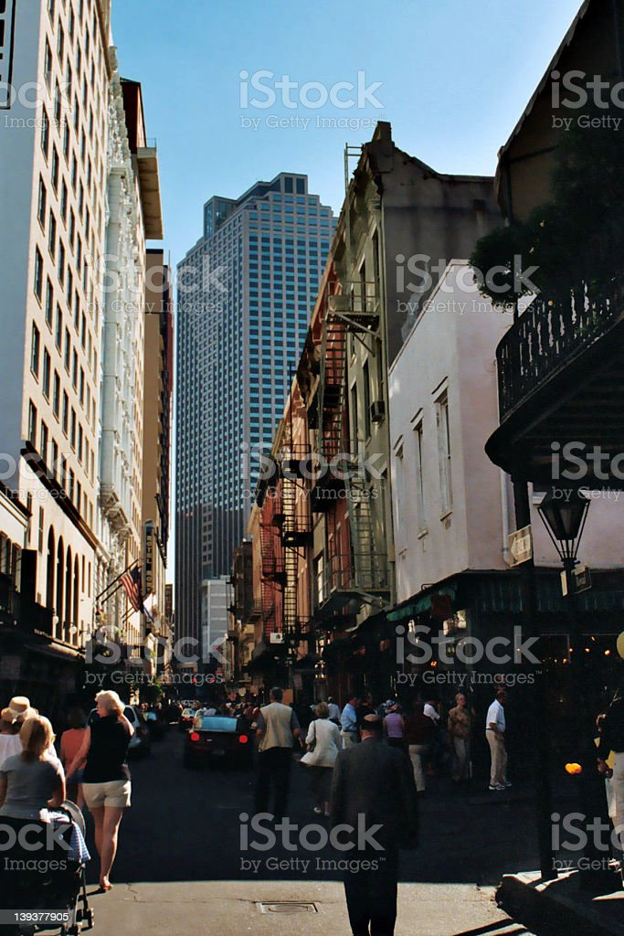 New Orleans French Quarter royalty-free stock photo