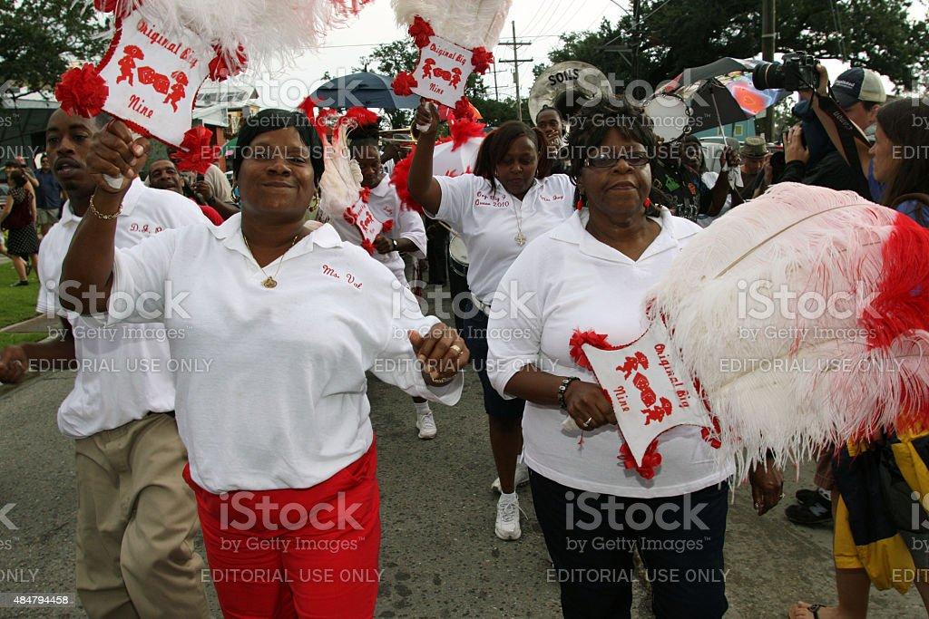 New Orleans Hurricane Katrina Fifth Anniversary, August 29, 2010 stock photo