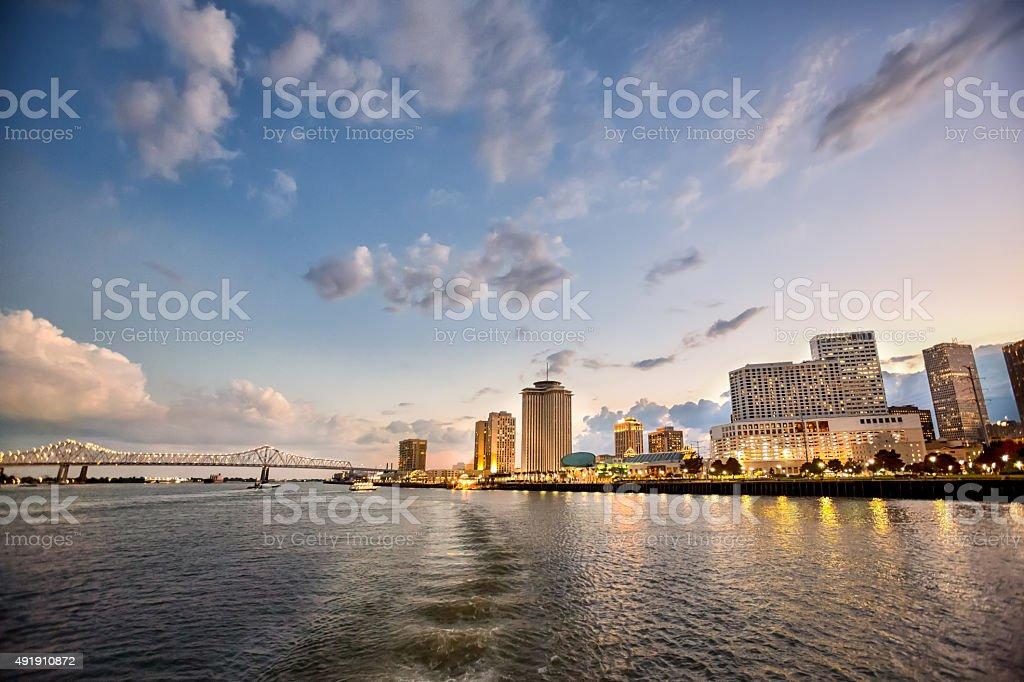 New Orleans Louisiana CityScape stock photo