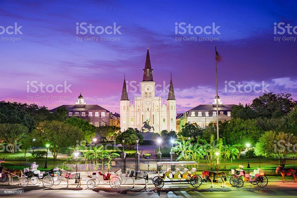 New Orleans Louisiana stock photo