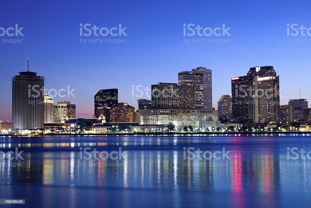New Orleans skyline royalty-free stock photo