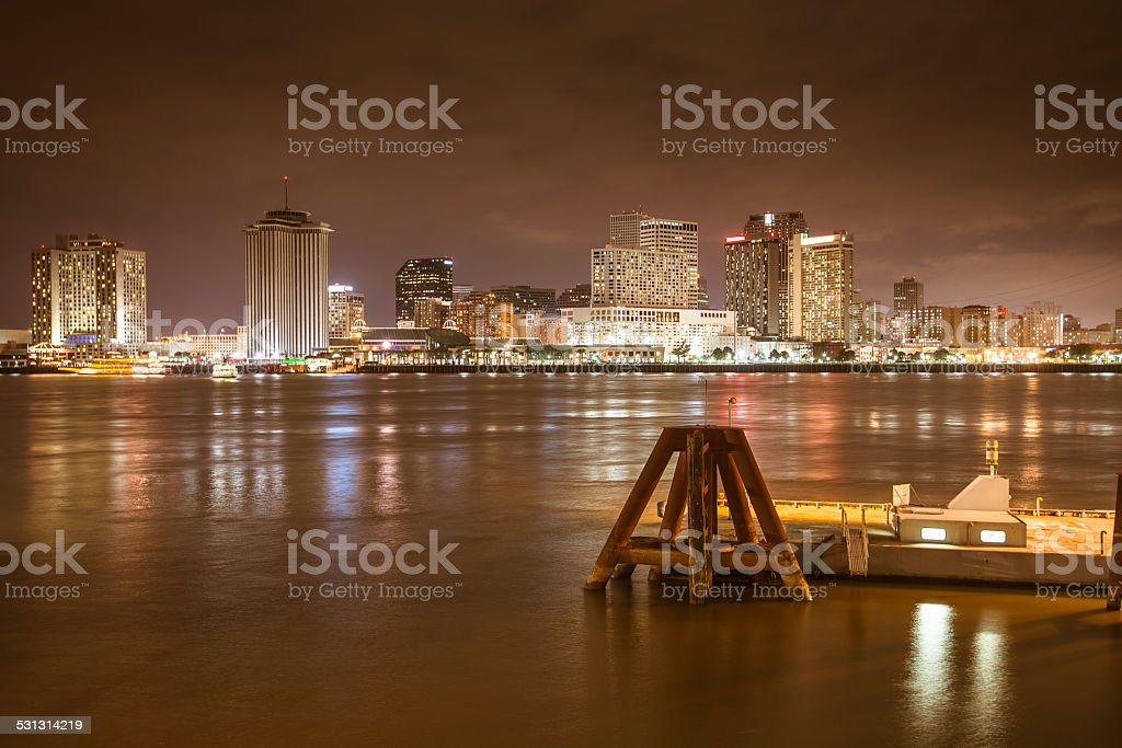 new orleans skyline stock photo