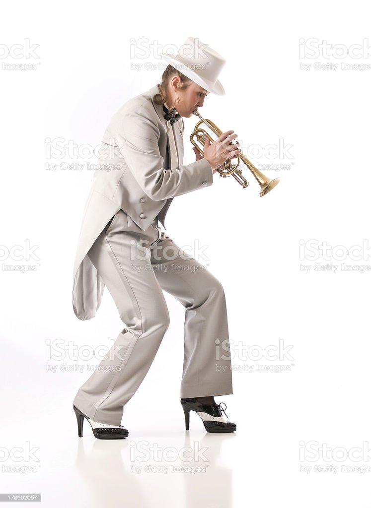 New Orleans style Jazz royalty-free stock photo