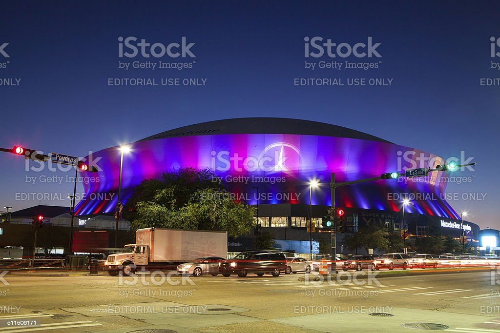 New Orleans Superdome stock photo