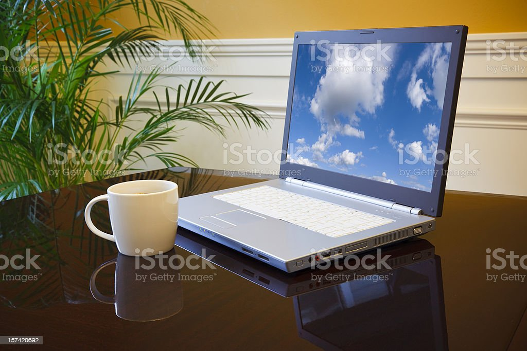 New outlook royalty-free stock photo
