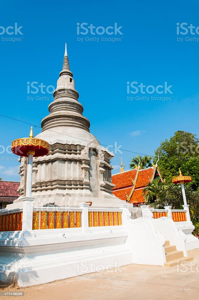 New pagoda structure. royalty-free stock photo