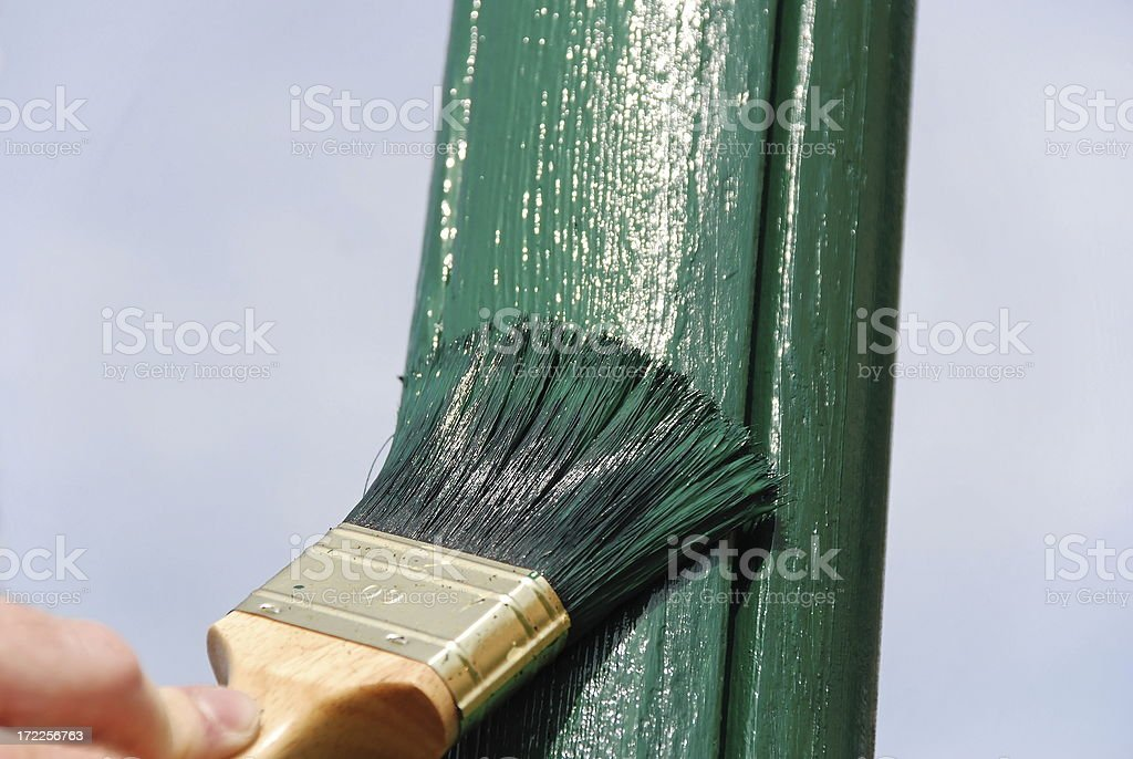 New Paint royalty-free stock photo