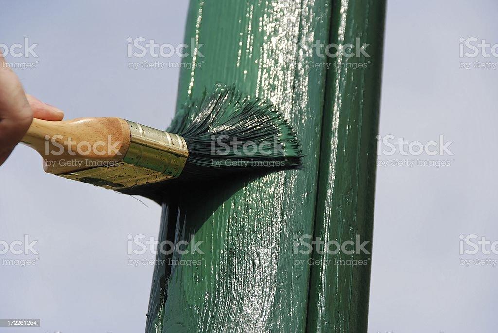 New Paint stock photo