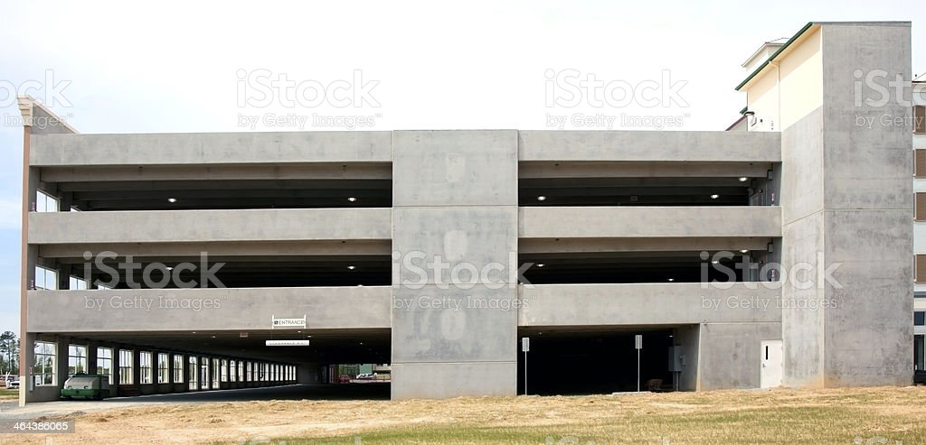 New Parking Garage royalty-free stock photo