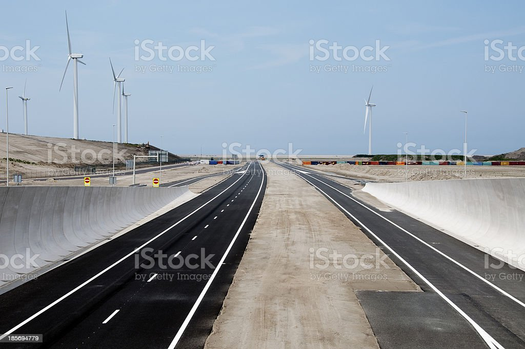 new part of Holland stock photo