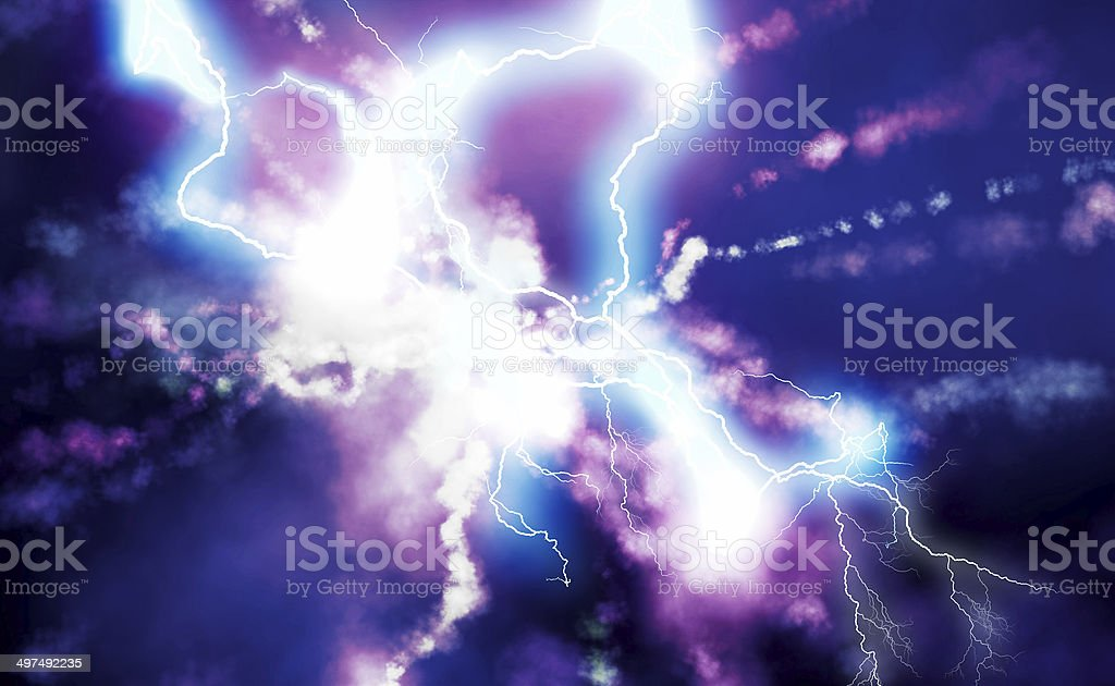 New particle discovery stock photo
