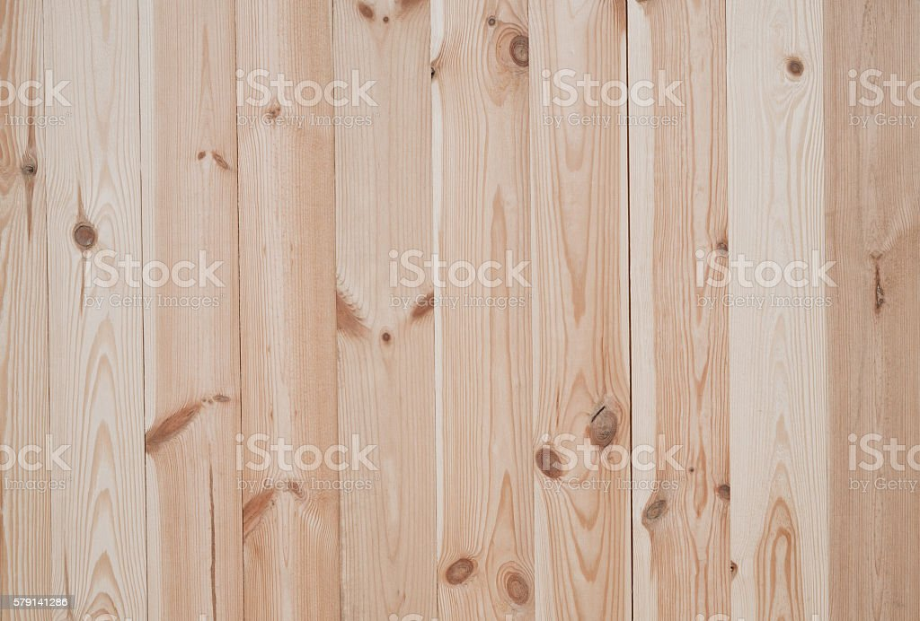 New pine wooden boards background stock photo