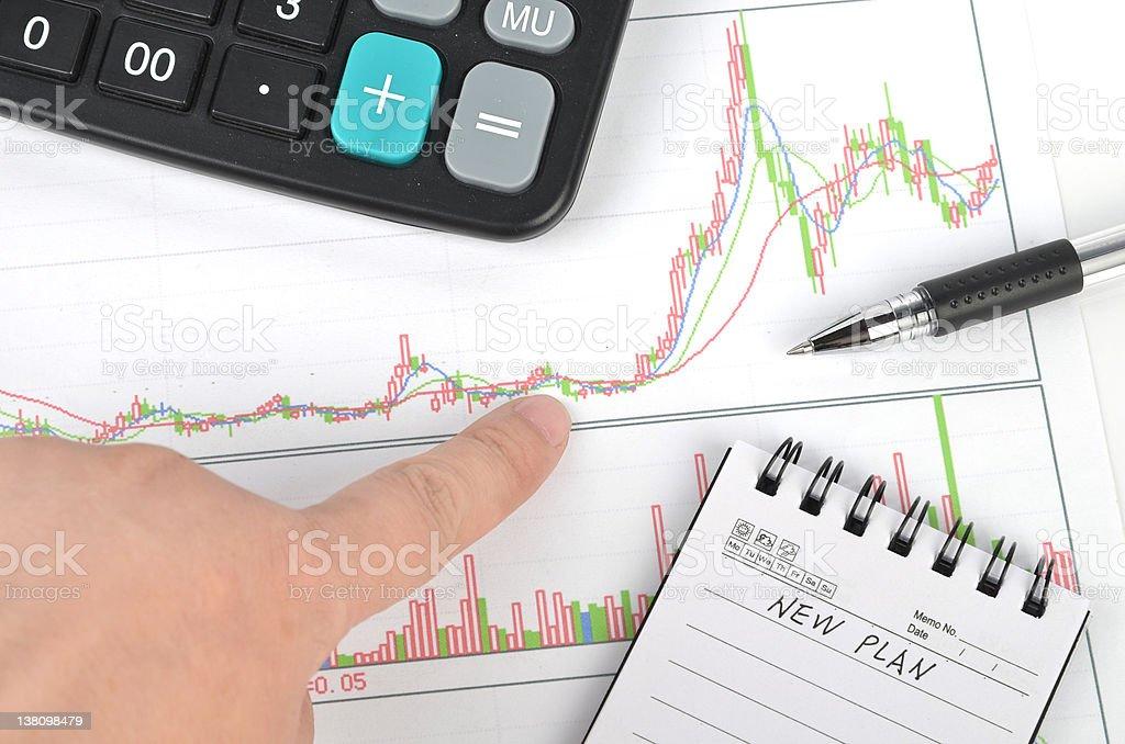 New plan royalty-free stock photo