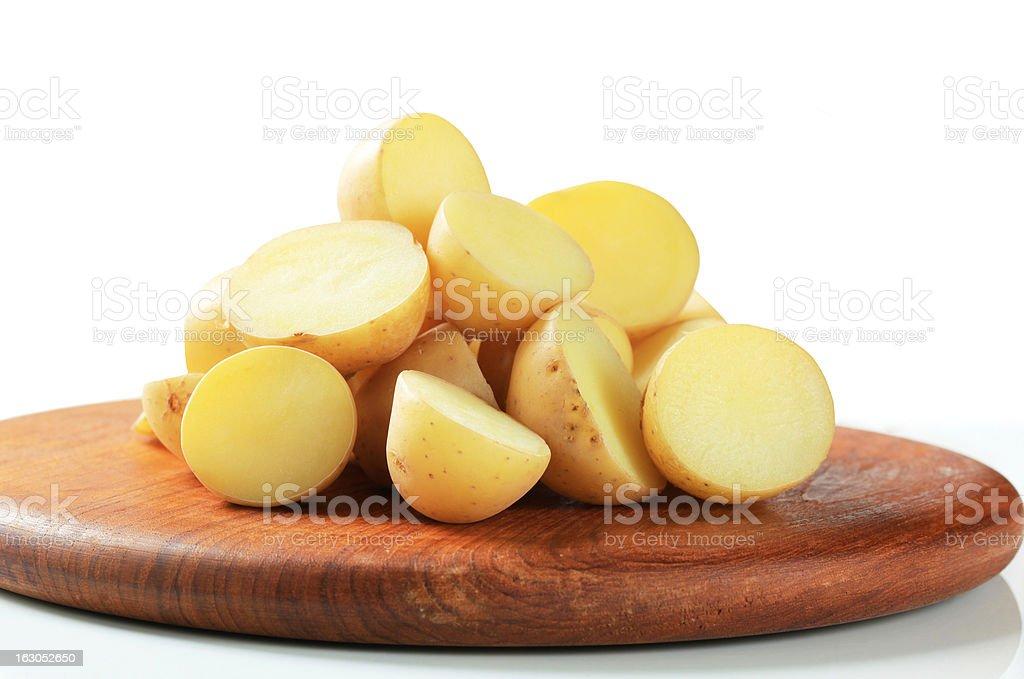 New potatoes royalty-free stock photo