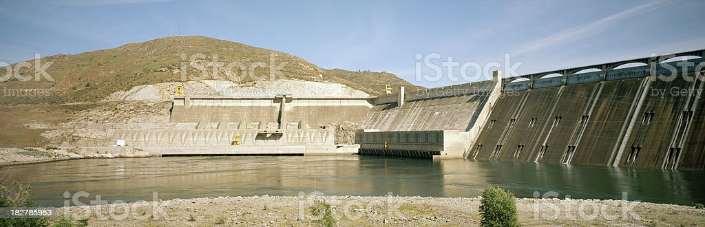 'New Powerhouse, Grand Coulee Dam, Washington' stock photo