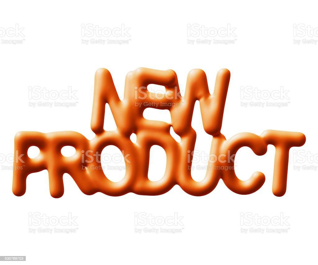Novo produto foto royalty-free
