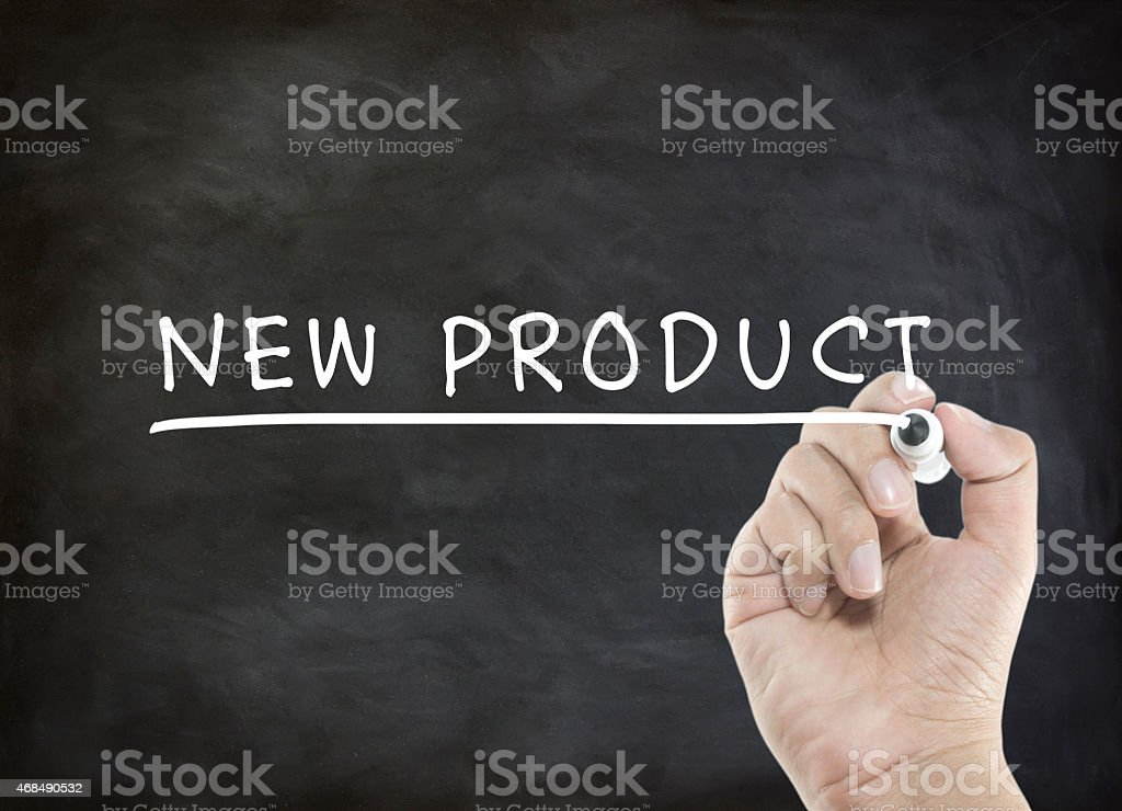 new product word stock photo