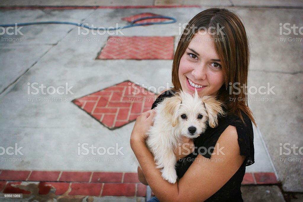new puppy royalty-free stock photo