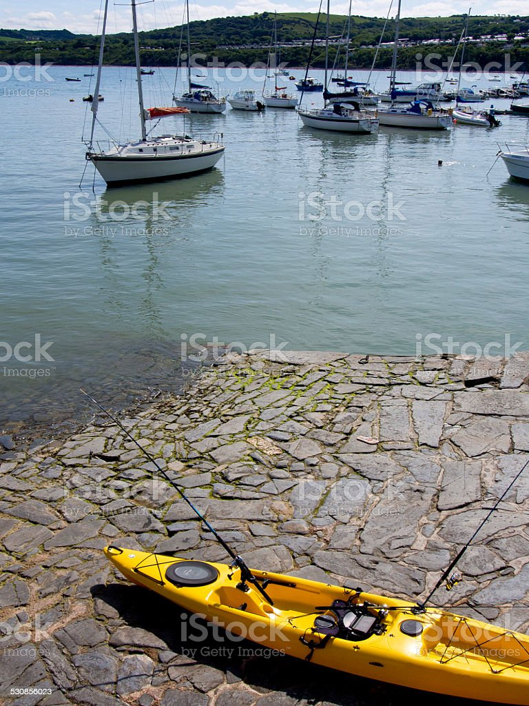 New Quay, Cardigan Bay. stock photo
