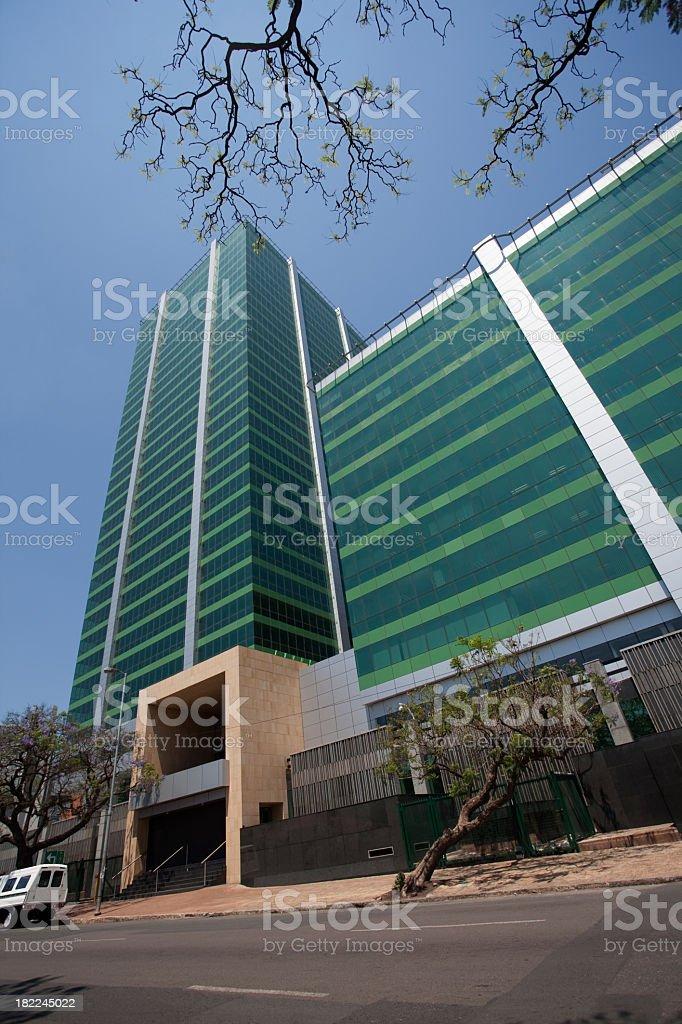 New Refurbished Building in Pretoria stock photo