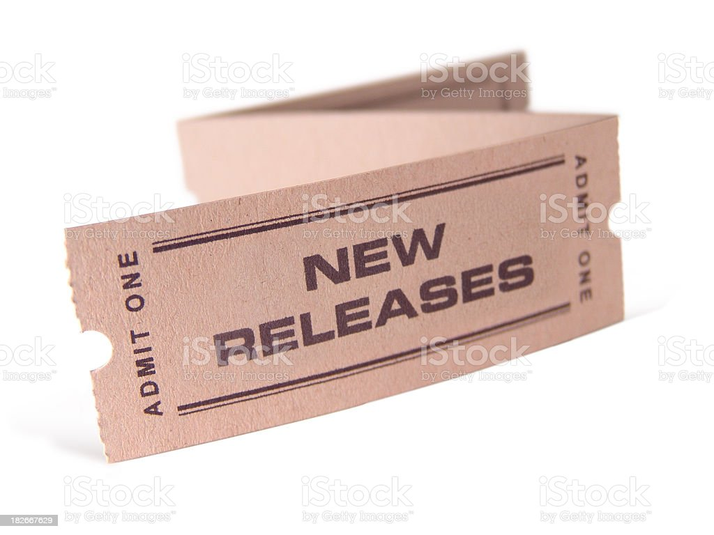 New Releases royalty-free stock photo