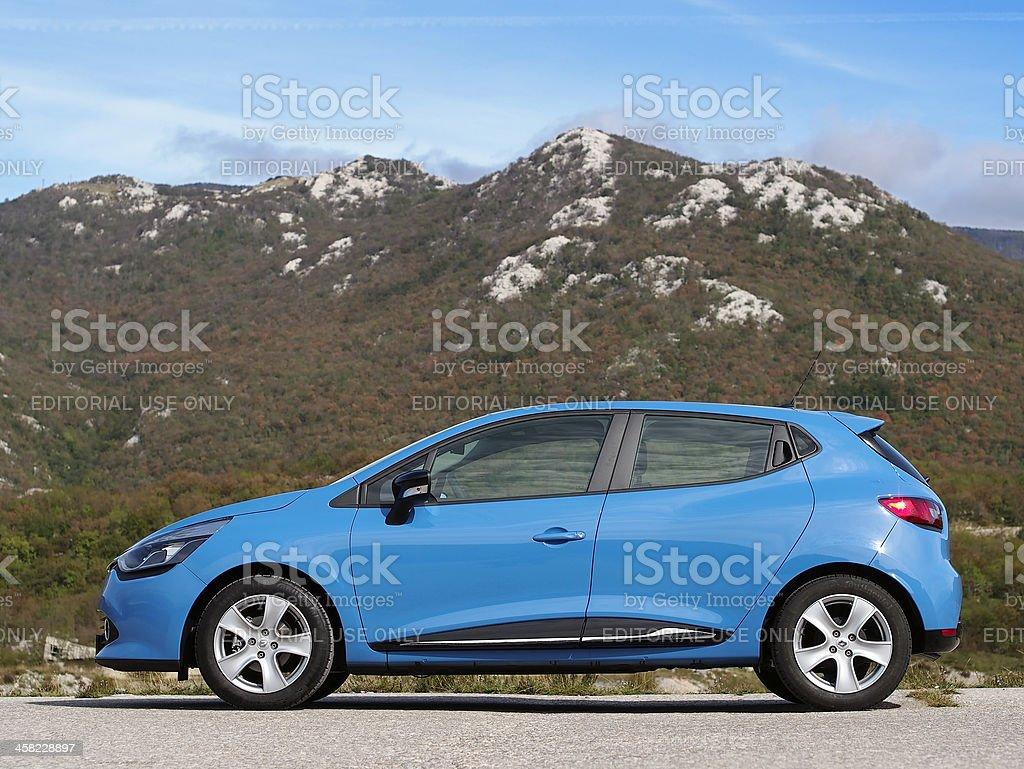 New Renault Clio side stock photo