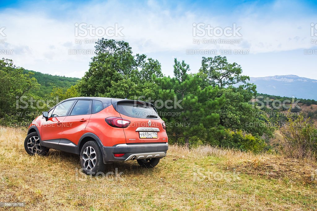 New Renault Kaptur car stock photo