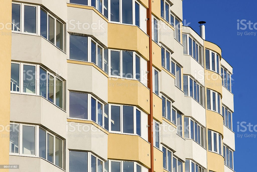 new residential building stock photo