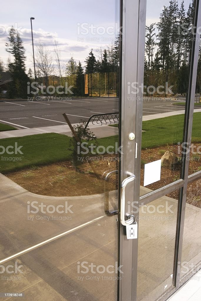 New Retail/Office Space royalty-free stock photo
